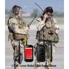 4.7 HD Screen Walkie Talkie Rugged telefone