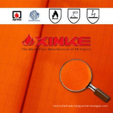 Xinke High visibility fr cotton modacrylic fabric for protective clothing