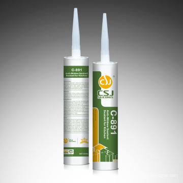 Gap Filling Glue Mold Proof Silicone Sealant para el baño