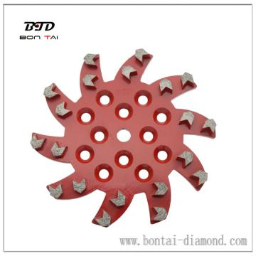 20 arrow segment floor grinding star disc