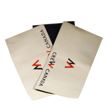 Factory Price Custom Size Name Logo Folded Woven Neck Labels
