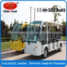 14 Seats Electric Passenger Shuttle Bus with CE certificate 14 passenger electric shuttle bus DN-14 for sale with CE Certificate