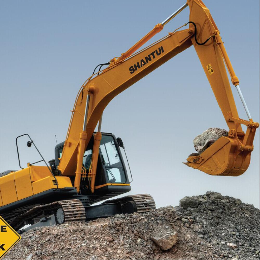 shantui crawler excavator