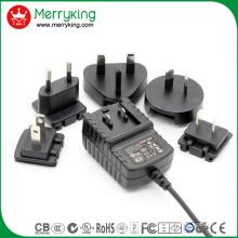 5V2a austauschbarer Adapter UL FCC SAA PSE GS DOE VI Level Energieeffizienz