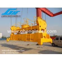 Distributeur de conteneur télescopique hydraulique à la fois pour 20 et 40 pieds Conteneur