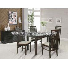 Conjunto de jantar, Móveis de sala de jantar, Conjunto de jantar de madeira