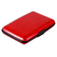 Caja de tarjeta de crédito RFID de aluminio