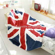 super soft microfiber flag blanket double layer throw