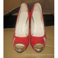 Stiletto novo do vestido de casamento do salto alto das senhoras do projeto (HCY02-1625)