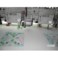 Chenille gemischte Stickmaschine