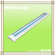 huahuang high quality 2*40W T8 modern lights with grilles