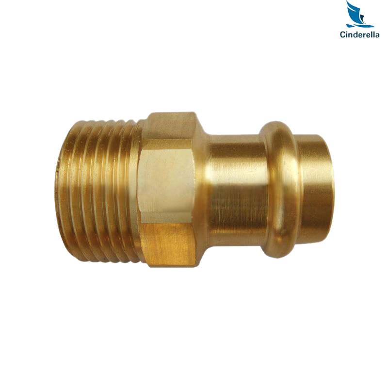 Cnc machined brass pipe fittings check valves china