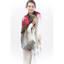 Foulard Rose-90% Modal & 10% Cachemire Femme
