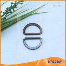 Tamaño interior 20mm Metal Hebillas, Regulador de metal, Metal D-Ring KR5056