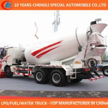 Caminhão do misturador concreto do tipo 4cbm 5cbm de China 6X4 para a venda