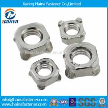 DIN928 en stock noyau de soudure carré en acier inoxydable