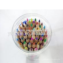 50pcs de haute qualité en bois promotionnel personnalisé couleur crayon