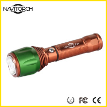 Aluminium Alloy Adjustable Anti-Skid Barrel Torch (NK-06)