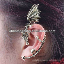 Moda ouvido punho brincos dragão ouvido clip jóias EC03