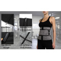 Latex Fitness Sweat Zip Corset Trainer