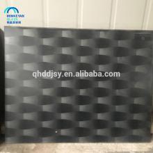 respingo de vidro temperado de impressão silkscreen colorido para construção