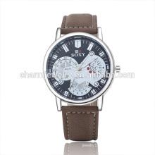 2016 New Trendy Luxury Vogue Quartz Leather Wrist Watch SOXY045