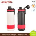 Everich Wide Mouth Vakuum Sport Trinkflasche Mit Sport Deckel