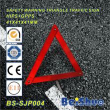 Signe d'avertissement de triangle de trafic réfléchissant de sécurité