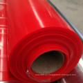 Hoja de la goma del silicón del color rojo del precio de fábrica, hoja de color rojo oscuro del silicón
