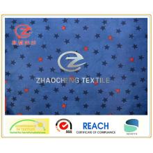 Star Printing 210t Poly Taffeta 2PU Doublure / tissu de vêtement (ZCGP062)
