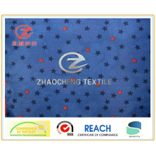 Звезда печати 210 т Poly тафта 2PU подкладки / одежды ткани (ZCGP062)