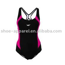 Swimwear de corpo inteiro por atacado para as mulheres, maiô