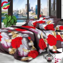 оптовая высокой плотности тканые чистый полиэстер домашний текстиль ткани