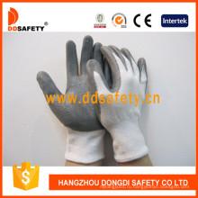 Спандекс нейлон рабочие перчатки с покрытием Нитрила с Dcr117 се