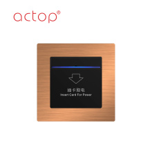 smart hotel Insert Card to get power energy saving switch