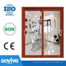 Alta qualidade e profissional alumínio porta de vidro do banheiro