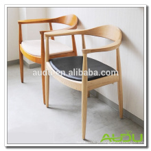 Audu Hotel Dining Chair / Wood Hotel Passage Chair para jantar