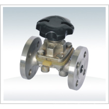 Cast Steel Flanged Dn100 Pn16 Diaphragm Valve