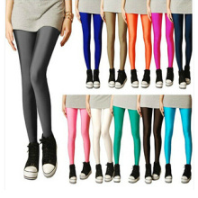Fashion Girls′ Candy Color Skinny Leggings (SR8224)