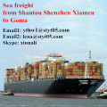Shantou best sea freight rates to Goma