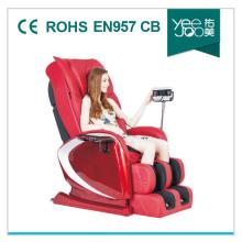 Masaje en las pantorrillas primavera puede extenderse 15cm más largo silla del masaje (YEEJOO-568A)