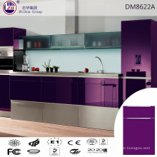 Elegante lila Farbe Küchenschrank für Asien Markt