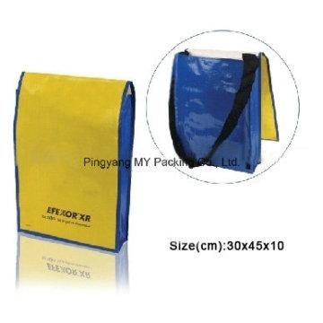 Custom Teens Bicycle Shoulder Bag Messenger Nonwoven Bag
