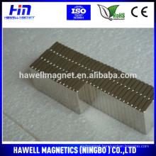 High quality NdFeB magnet Nickel coating Block Shape N35 - N52