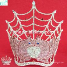 2014 corona tiaras, corona grande del desfile, tiaras animales altas para la venta