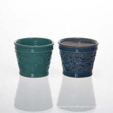 Chinese Plum Blossom Ceramic Holders for Scented Wax