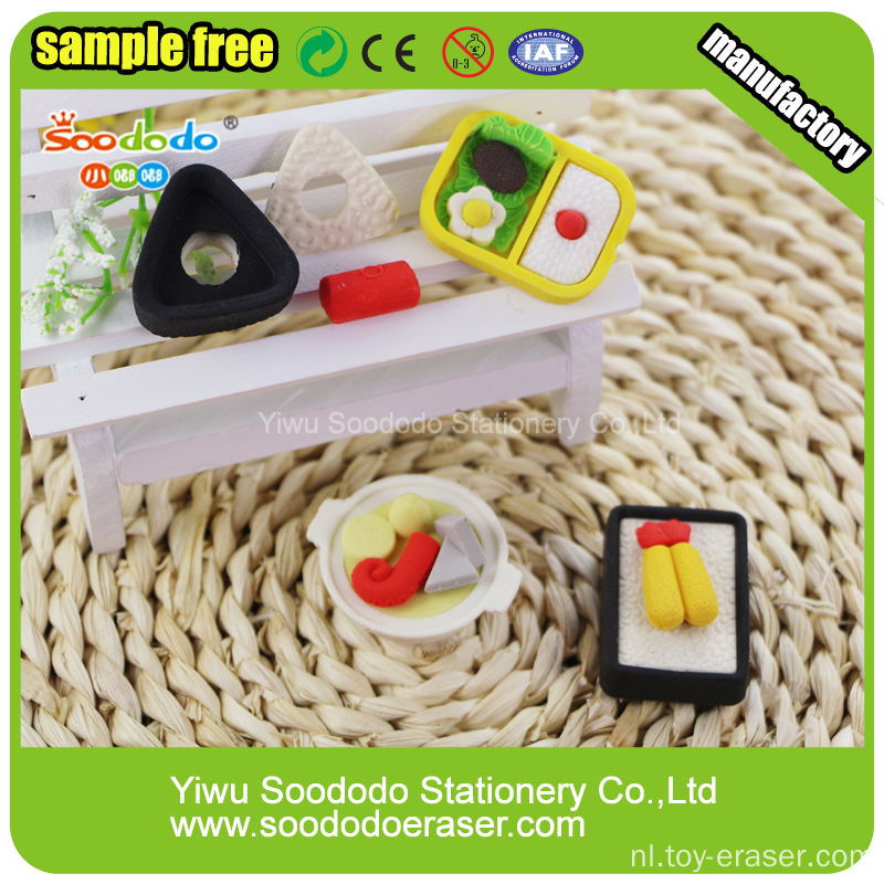 Eten Fancy Eraser School Stationery Sets