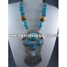 Коренастый ожерелье ювелирные изделия