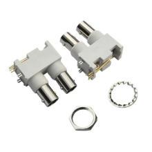 Couple BNC jack connectors