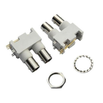 Couple BNC jack connectors